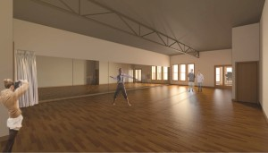 The rehearsal room will be expanded into a space that can double as a rental facility or a venue for performances that aren't suitable for a 650-seat auditorium. This will expand our revenue streams, which will allow for greater financial stability, and increase our programming options, which will help us better serve the community.